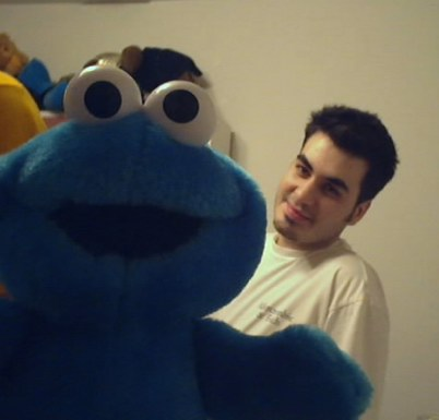 Baby Cookie Monster & Fif